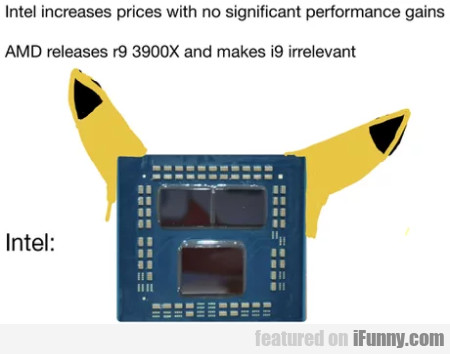 Intel increases prices with no significant...