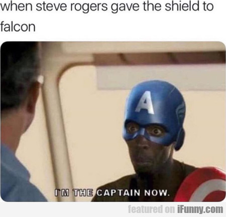When Steve Rogers Gave The Shield To Falcon