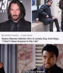 Keanu Reeves Admits He's A Lonely Guy And...