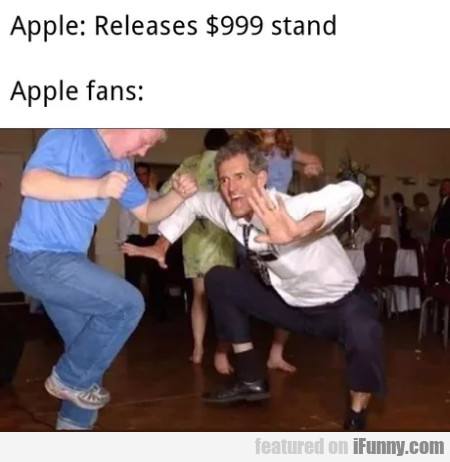 Apple Releases $999 Stand