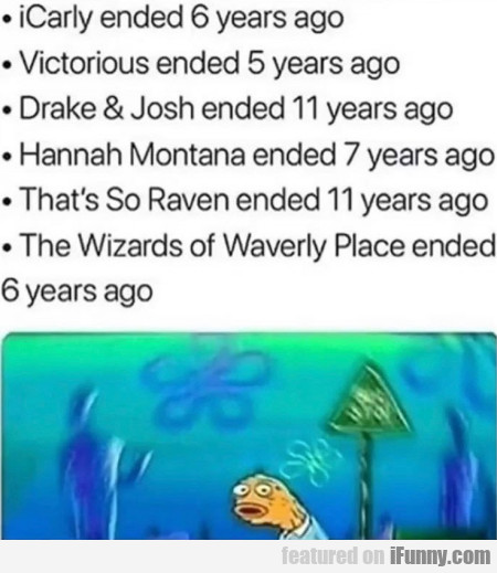 Icarly Ended 6 Years Ago - Victorius Ended...