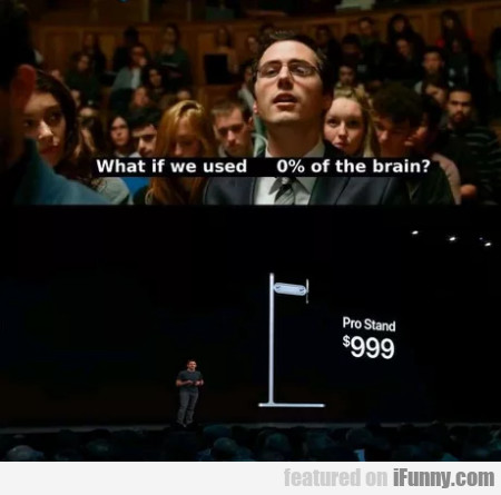 What If We Used 0% Of The Brain - Pro Stand 999
