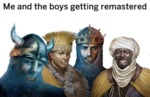Me And The Boys Getting Remastered