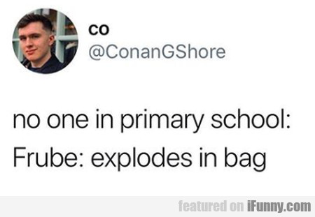 No One In Primary School