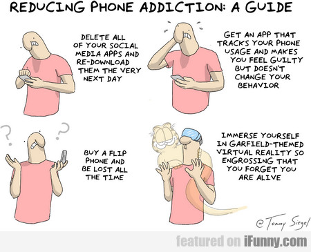 Reducing Phone Addiction - A Guide