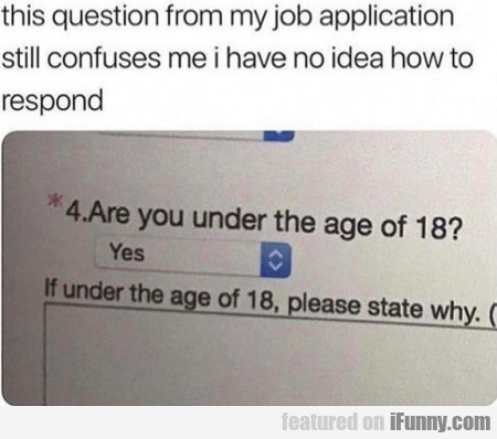 This question from my job application still confus