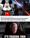 No Dismemberment Allowed - Disney Is Forcing