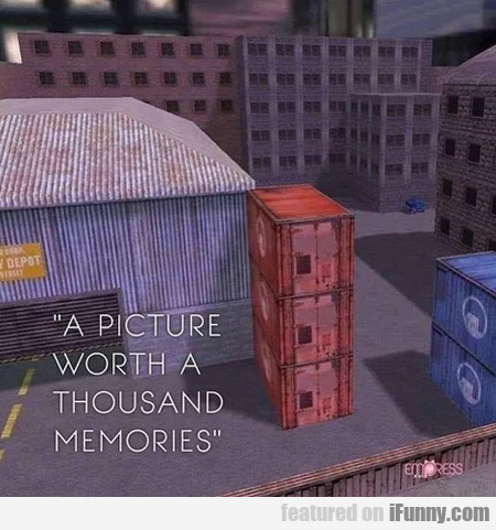 A Picture Worth A Thousand Memories
