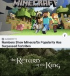 Numbers Show Minecraft's Popularity Has Surpassed