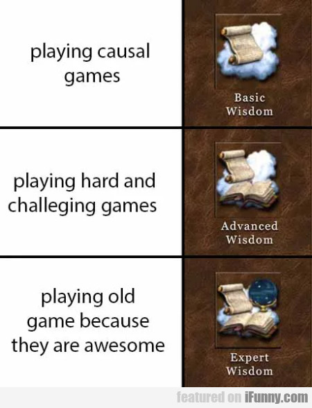 Playing casual games - Playing hard and...
