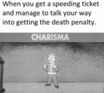 When You Get A Speeding Ticket And Manage To...