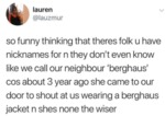 So Funny Thinking That Theres Folk U Have Nickname