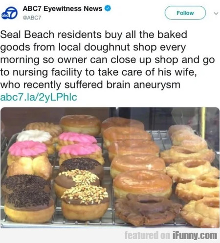 Seal Beach Residents Buy All The Baked Goods From