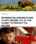 Wyoming Billionaire Plans To Buy Around 15%