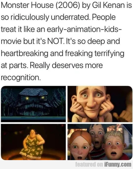 Monster House 2006 By Gil Kenan Is So...
