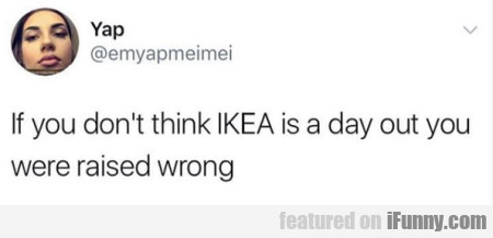 If You Don't Think Ikea Is A Day Out