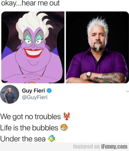 Okay... Hear Me Out - We Got No Troubles