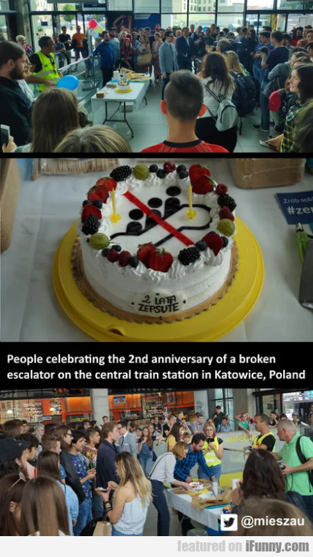 People Celebrating The 2nd Anniversary Of A...