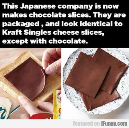 This Japanese Company Is Now Making Chocolate