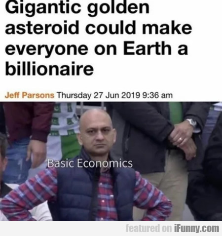 Gigantic golden asteroid could make everyone...