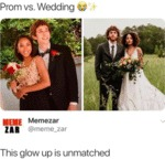 Prom Vs Wedding - This Glow Up Is Unmatched