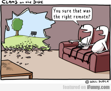 You Sure That Was The Right Remote?