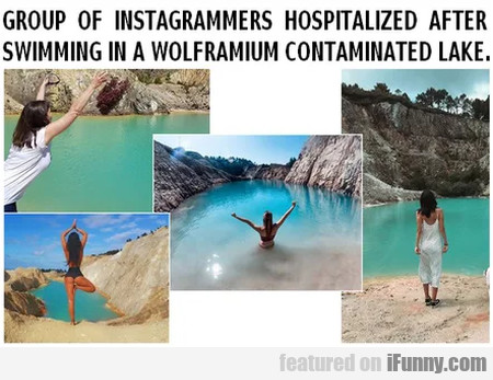 Group Of Instagrammers Hospitalized After...