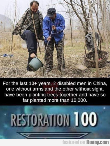 For The Last 10+ Years, 2 Disabled Men In China...