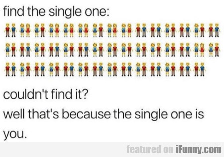 Find The Single One