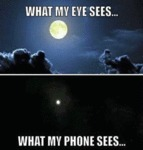 What My Eye Sees - What My Phone Sees