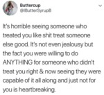 It's Horrible Seeing Someone Who Treated You Like