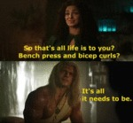 So That's All Life Is To You - Bench Press And...