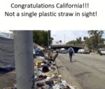 Congratulations California!!! Not A Single Plastic