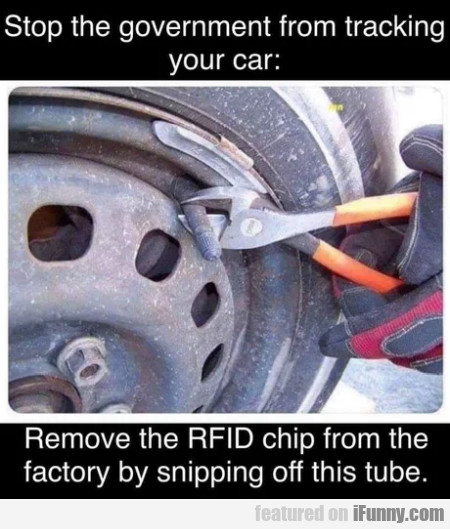 Stop the government from tracking your car...