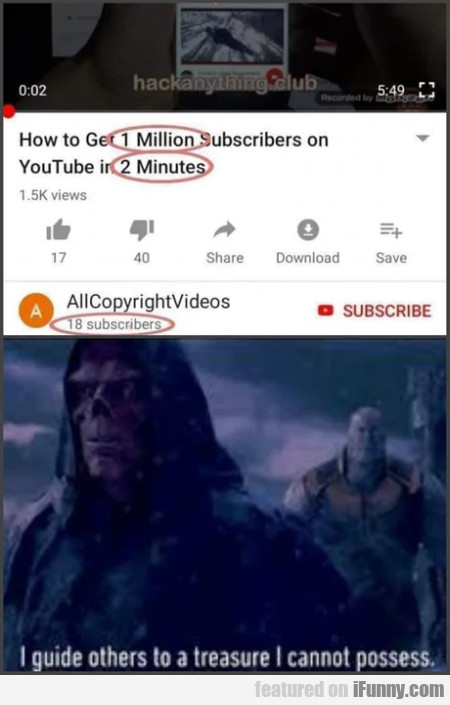 How To Get 1 Million Subscribers On Youtube
