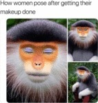 How Women Pose After Getting Their Makeup Done
