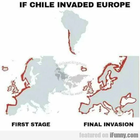 If Chile Invaded Europe - First Stage