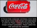 A Coca Cola Corporate Secretary Once Stole The...