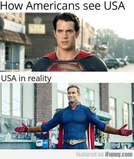 How Americans See Usa - Usa In Reality...