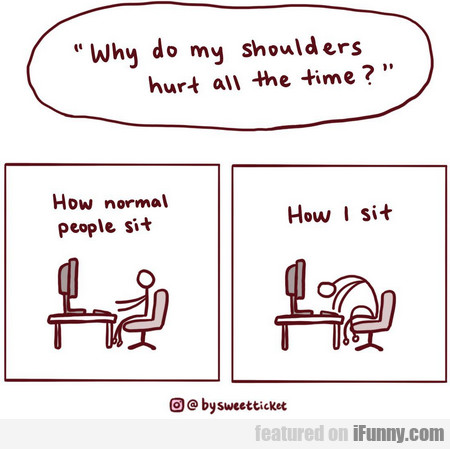 why do my shoulders hurt all the time?