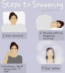 Steps To Showering
