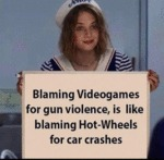 Blaming Videogames For Gun Violence, Is Like...