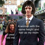 6 Year Old Me - A Woman With The Same...