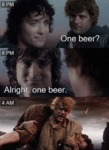 8 Pm - One Beer - Alright, One Beer - 4 Am