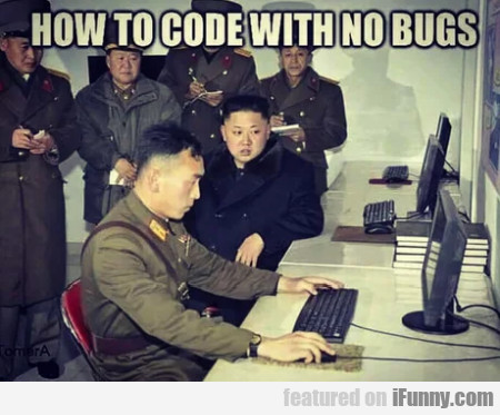 How To Code With No Bugs