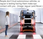 People Don't Trust Autonomous Vehicles, So Jaguar