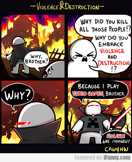 why, brother? why did you kill all those people?