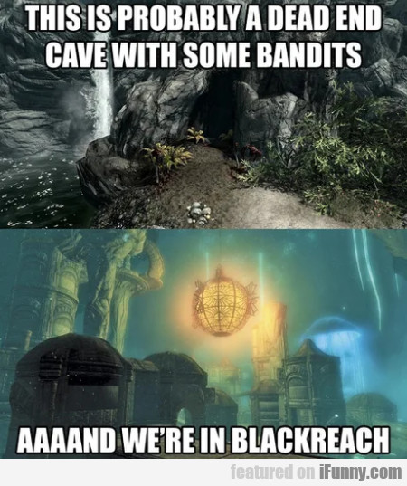 This Is Probably A Dead End Cave With...