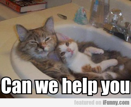 Can We Help You?