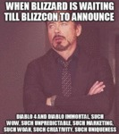 When Blizzard Is Waiting Till Blizzcon To Announce